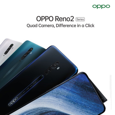 OPPO Reno2, Difference in a Click