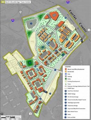 Small Area Plan for North Woodbridge, VA