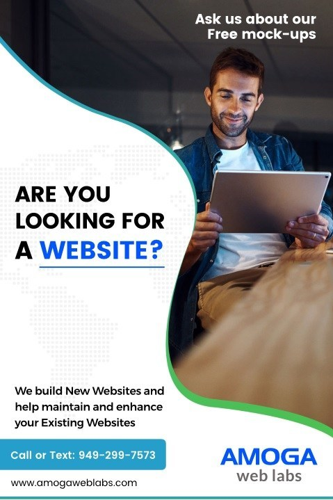 Are you looking for a Website ? If you are a small or micro business owner looking for a professional website, please visit https://www.amogaweblabs.com/ today.