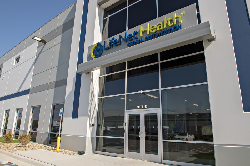 LifeNet Health's new global distribution center located near Indianapolis, Ind.