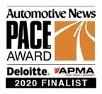 W. L. Gore & Associates' Technology Named 2020 Automotive News PACE Awards Finalist