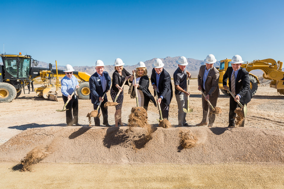 The City of Las Vegas teams up with representatives of leading homebuilders Lennar, Shea and Woodside to break ground on Sunstone. The new masterplanned community will bring over 3,000 new homes to northwest Last Vegas.