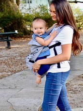 Mamapod is an innovative, ergonomic baby carrier that combines the comfort of a traditional soft carrier and with structured hip support. Mamapod alleviates many common baby carrier issues, including a lack of back and shoulder support, breathability and comfort and safety for your baby.