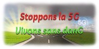 Logo : Campagne Stoppons la 5G (Groupe CNW/Campagne Stoppons la 5G)
