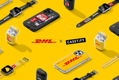 Following last year's sold-out series, the new DHL x CASETiFY collection introduces special edition designs for a larger range of accessories compatible with the most popular tech of 2019.