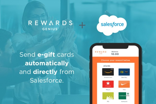 Send e-gift cards from Amazon.com, iTunes, Target and more to prospects, customers, and employees.
