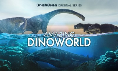 CuriosityStream Unearths Incredible New Facts and Reveals a New Vision of Prehistoric Earth in The Amazing Dinoworld Miniseries | Markets Insider