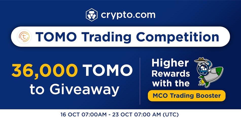 Crypto.com App TOMO Listing Promotion