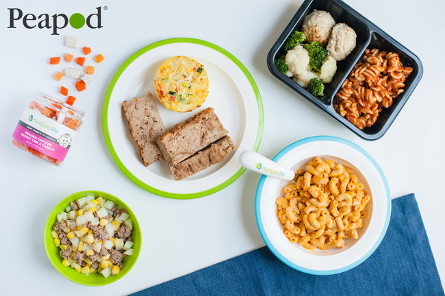Peapod Launches Exclusive Partnership with Nurture Life