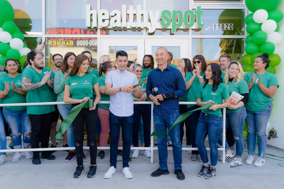 Healthy Spot Announces Grand Opening Party in Pasadena