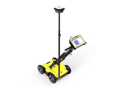 Leica Geosystems DSX utility detection solution works with Getac tablets to provide highly reliable subterraneous information on any terrain.