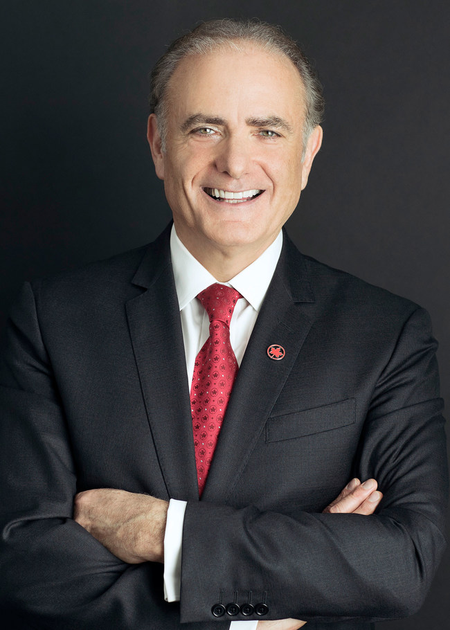 Air Canada President and Chief Executive Calin Rovinescu Named Strategist of the Year and One of Canada's Top CEOs of the Year by Globe and Mail's Report on Business (CNW Group/Air Canada)