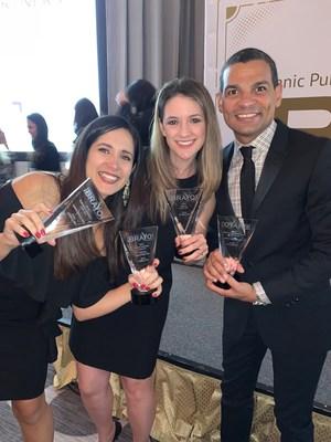 Havas FORMULATIN es nombrada Agencia del Año en los Premios BRAVO 2019 por la Asociación Hispana de Relaciones Públicas