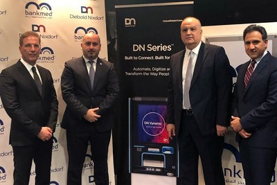 Bankmed is the first bank to deploy Diebold Nixdorf's DN SeriesTM self-service solution in Lebanon and the first to introduce cash recycling in the country.
