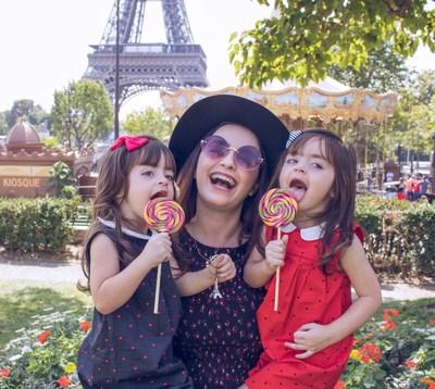 Jéssica e as Gêmeas conhecendo Paris