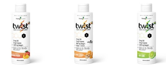HempFusion's 8-ounce Twist products (CNW Group/Hemp Fusion)