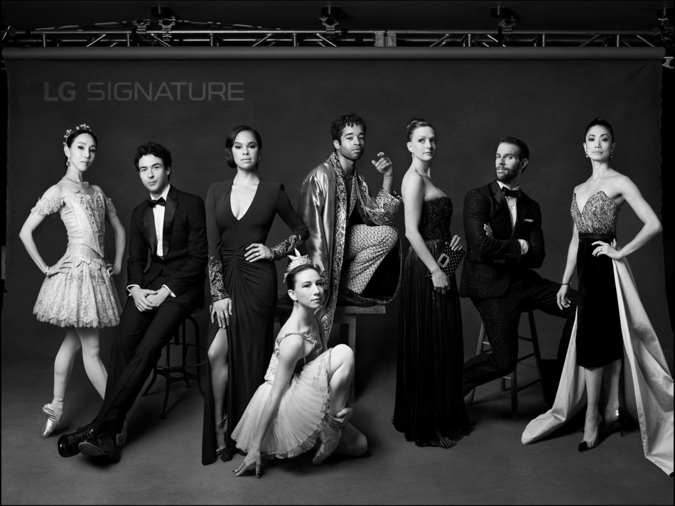 """Renowned photographer Mark Seliger, celebrated for his captivating celebrity portraits for Vanity Fair, photographed ABT dancers' """"SIGNATURE Look"""" during ABT Fall Gala."""