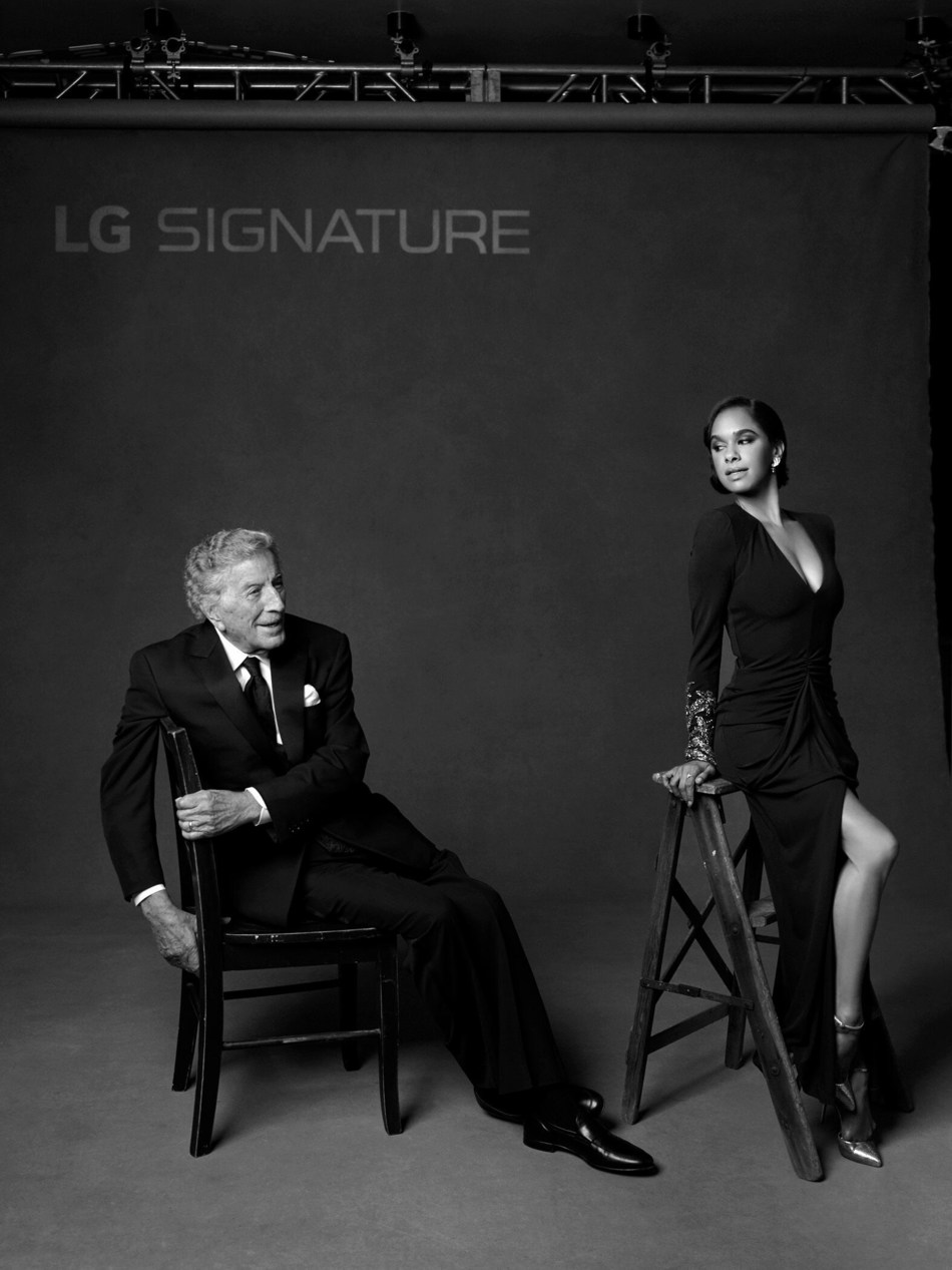 """Renowned photographer Mark Seliger, celebrated for his captivating celebrity portraits for Vanity Fair, photographed Tony Bennett and Misty Copeland for """"SIGNATURE Look"""" during ABT Fall Gala."""