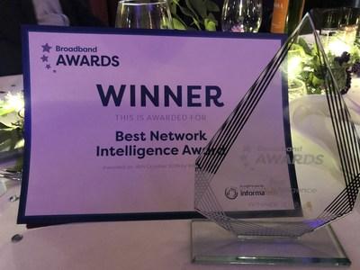 Premio a la Mejor Inteligencia en Redes (PRNewsfoto/ZTE Corporation)