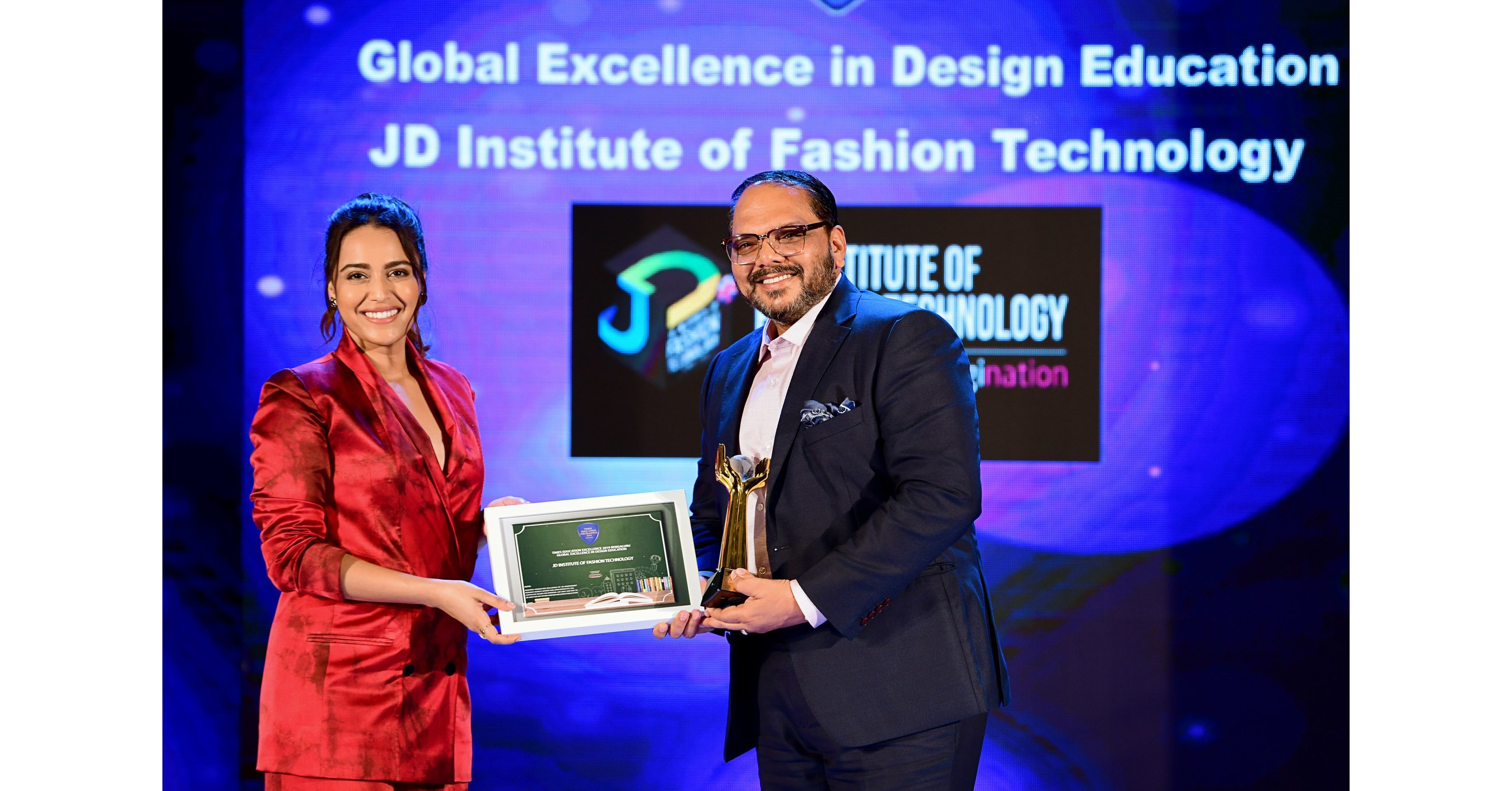 Jd Institute Receives Global Excellence In Design Education Award By Times