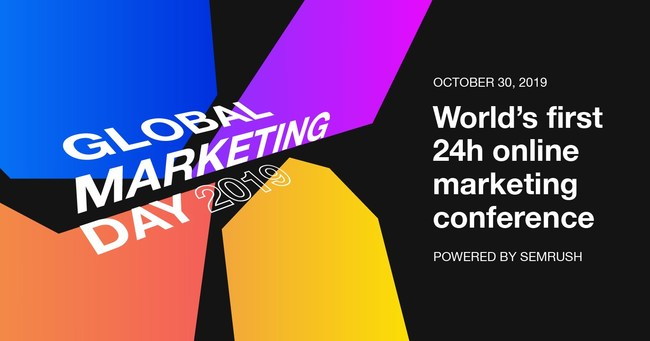 World's first 24h online marketing conference powered by SEMrush