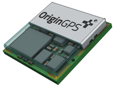 OriginGPS NEW dual frequency (L1+L5) GNSS module for solutions where ultra-accurate positioning is super-important