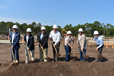 Watercrest Senior Living Group and The St. Joe Company celebrate the groundbreaking of Watercrest Santa Rosa Beach Assisted Living and Memory Care in Santa Rosa Beach, Fla.