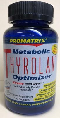 Thyrolan (Metabolic Optimizer) (Groupe CNW/Santé Canada)