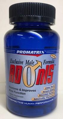 Adonis (Exclusive Male Formula) (Groupe CNW/Santé Canada)