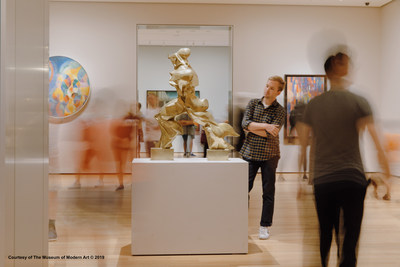 Pictured: Unique Forms of Continuity in Space by Umberto Boccioni, Museum of Modern Art (MoMA).