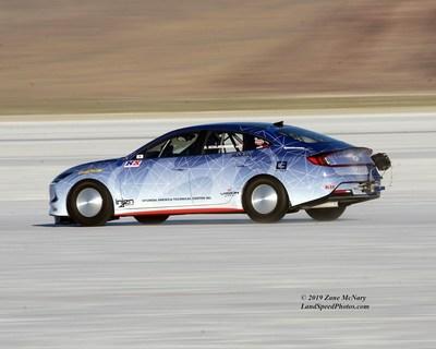 Sonata Hybrid Land Speed Record Attempt Concept
