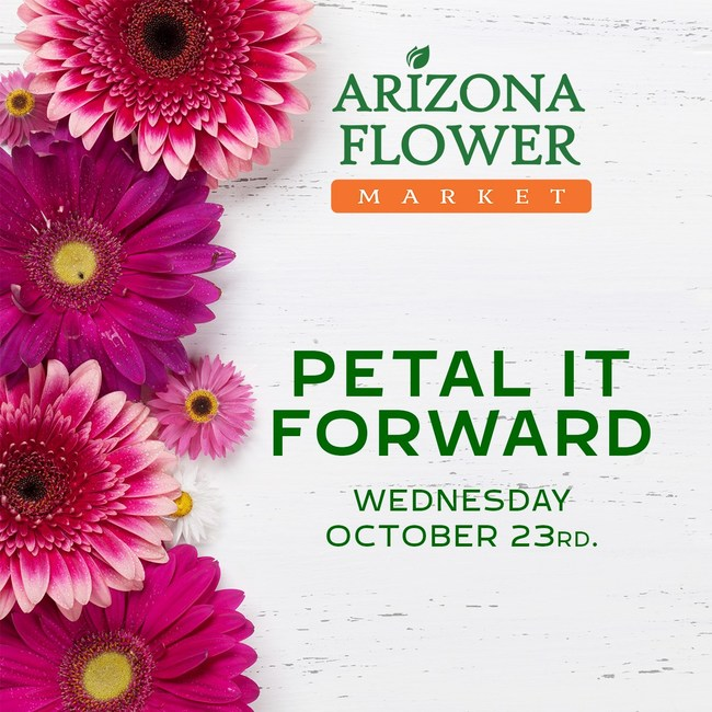 Petal it Forward Annual Free Flower Giveaway is Coming! Score 2 free bunches of flowers and give one to a person in need.