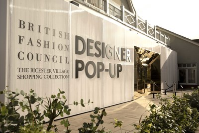 The BFC pop-up at Bicester Village, near London (PRNewsfoto/Bicester Village Shopping)