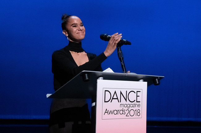 Misty Copeland Provides Opening Remarks at Dance Magazine Awards 2018