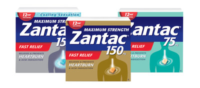Zantac Packaging (CNW Group/Sanofi-Aventis Canada Inc.)