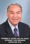 Thomas E. Gates, Esq., PE, Presented with the Lifetime Achievement Award