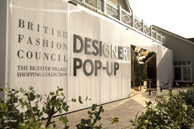 The BFC pop-up at Bicester Village, near London (PRNewsfoto/The Bicester Village Shopping C)