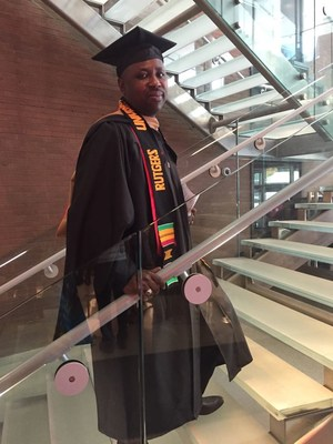 Rutgers Business School alumnus Nana Kyemereh Kokoankra II, who was known as Seth on campus, is applying the knowledge he gained in the MBA program to his role as a divisional chief in Ghana.
