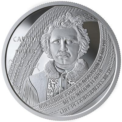 加拿大皇家造币厂推出路易斯-瑞尔诞辰175周年收藏级硬币
