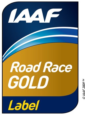 IAAF Road Race Gold Label (CNW Group/Scotiabank)