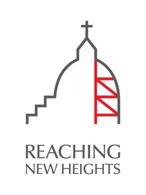 Logo: Reaching New Heights (CNW Group/Saint Joseph's Oratory of Mount Royal)