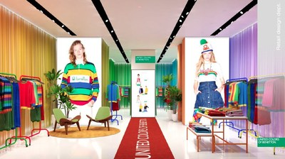 Benetton USA LA Pop-Up