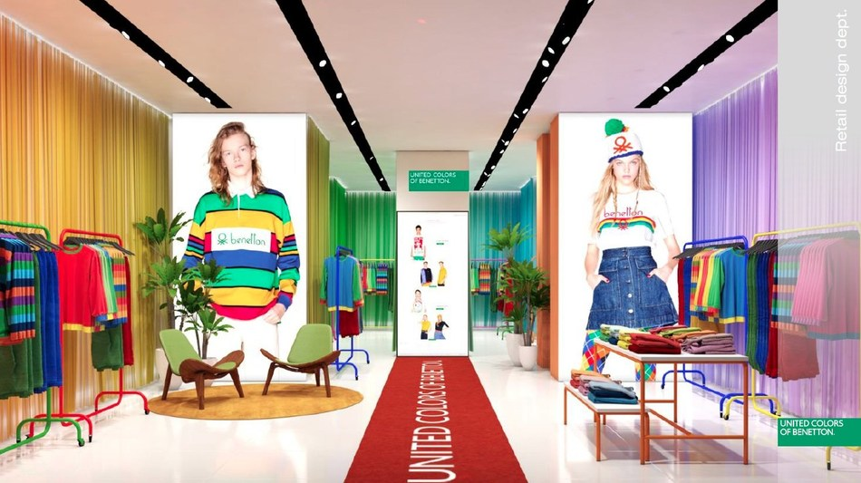 personal Experto Lujoso  United Colors of Benetton is Back
