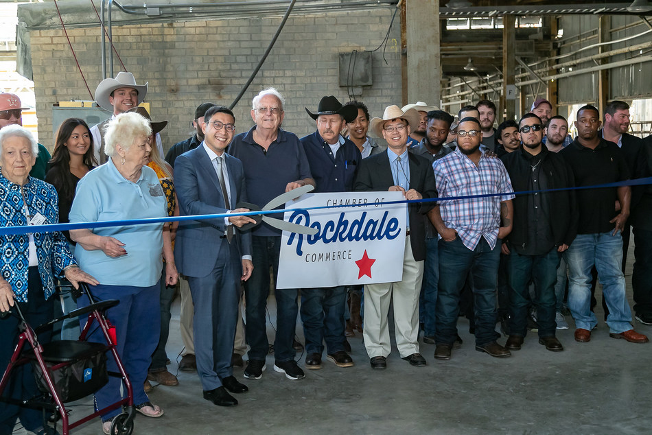Rockdale, Texas Mining Facility Ribbon Cutting