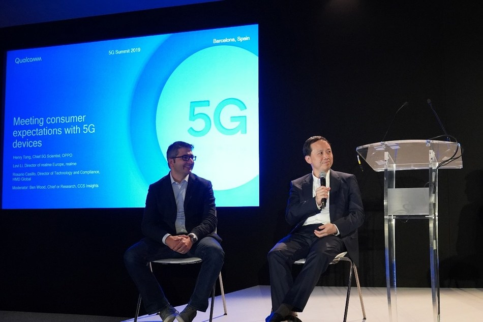 Henry Tang, Chief 5G Scientist, OPPO, at Qualcomm 5G Summit