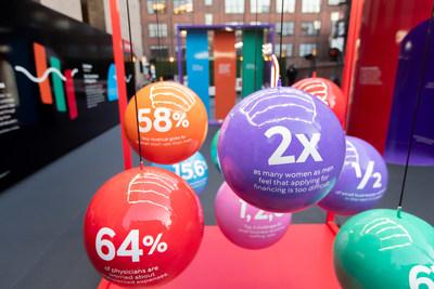 La Banque Scotia dévoile son installation Parcoursd'influence durant la Semaine de la petite entreprise  (Photo crédit: Sarjoun Faour) (Groupe CNW/Scotiabank)