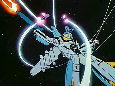 Robotech Series screenshot. Courtesy of Funimation.