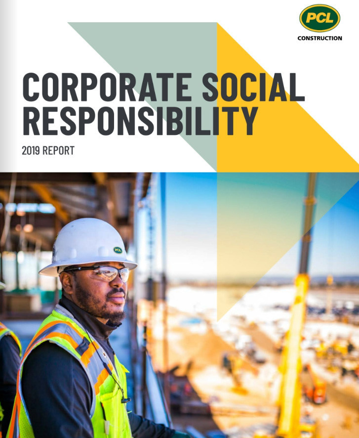 PCL Construction's Corporate Social Responsibility Report (CNW Group/PCL Constructors Inc.)