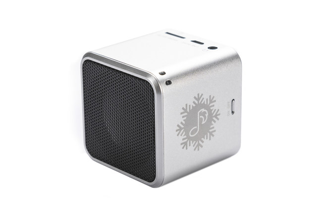 Pet Tunes Holiday Bluetooth Speaker Pre-loaded with 14 Holiday Tunes
