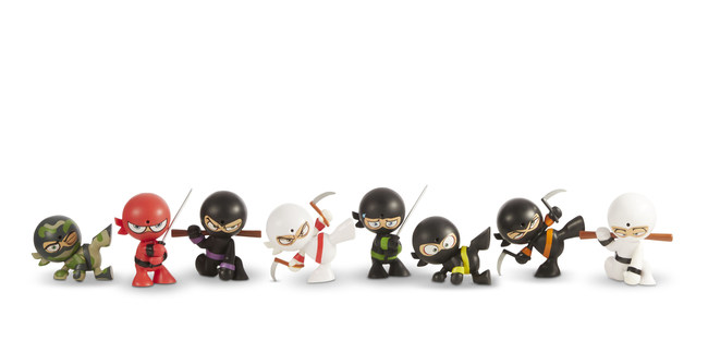 Funrise's Fart Ninjas 'gross out' collectible farting figures launch at retail in time to be the next hot holiday toy and stocking stuffer.